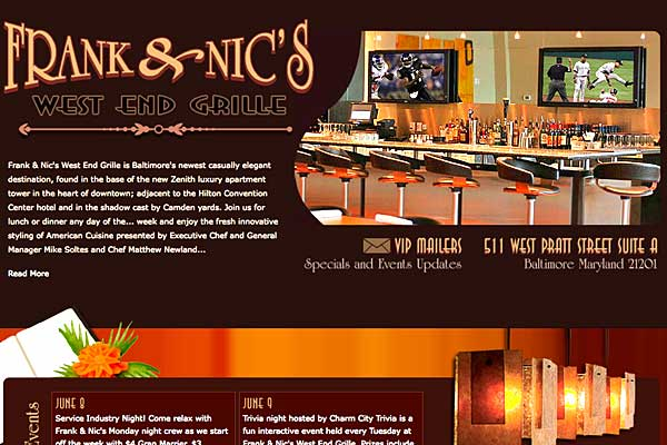 Innovative American Cuisine, open for lunch, dinner and drinks. - Baltimore Maryland