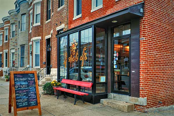 A charming, neighborhood coffee shop on Fort Ave. in South Bmore. - Baltimore Maryland