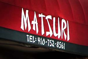 Matsuri Japanese Restaurant in Baltimore