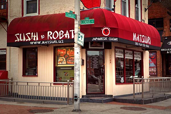 Matsuri Japanese Restaurant Baltimore Restaurants And Bars