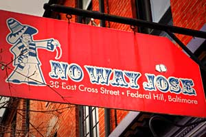 No Way Jose Cafe in Baltimore