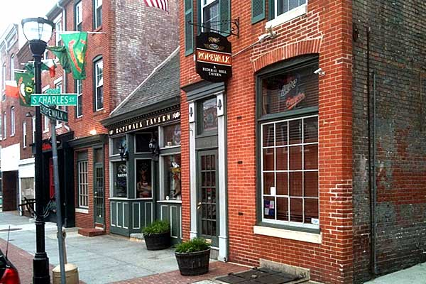 Ropewalk Federal Hill Tavern with historic beginnings... - Baltimore Maryland