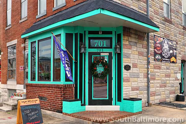 Would you believe, a <i>surfer bar</i> in the heart of South Bmore?  - Baltimore Maryland