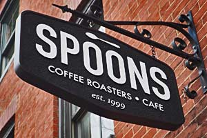 Spoons Coffee Roasters Cafe in Baltimore