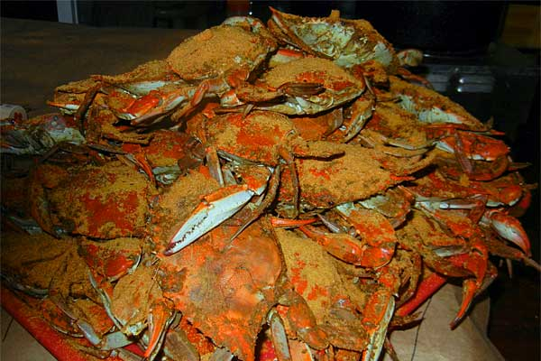 Location Of Crab Houses In And Around The Baltimore Area